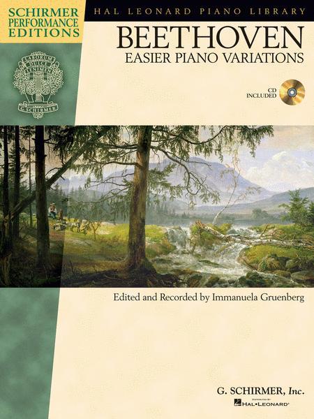 Ludwig van Beethoven - Easier Piano Variations