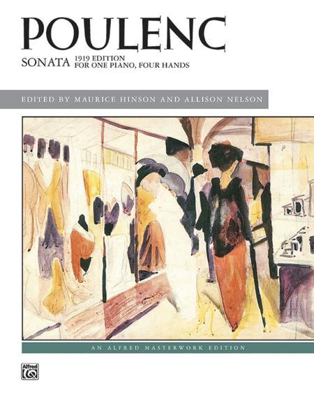 Poulenc -- Sonata
