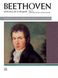 Beethoven -- Sonata in D Major, Op. 6