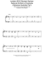 London 2012 Olympic Games: National Anthem Of Australia ('Advance Australia Fair')