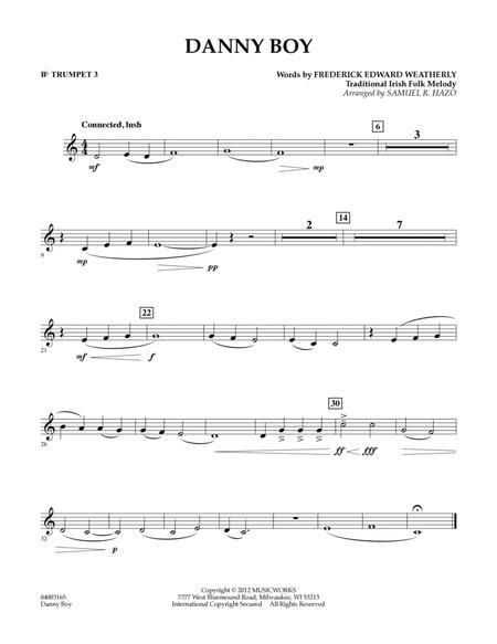 Danny Boy - Bb Trumpet 3