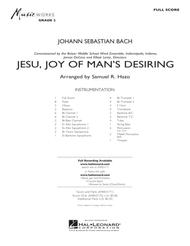 Jesu, Joy Of Man's Desiring - Full Score