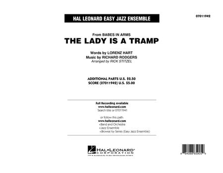 The Lady Is A Tramp - Full Score