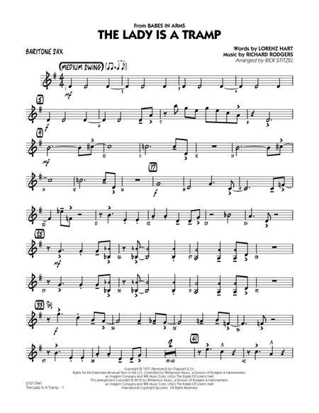 The Lady Is A Tramp - Baritone Sax