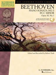 Beethoven: Sonata No. 5 in C Minor, Opus 10, No. 1