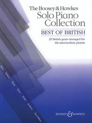 The Boosey & Hawkes Solo Piano Collection - Best of British
