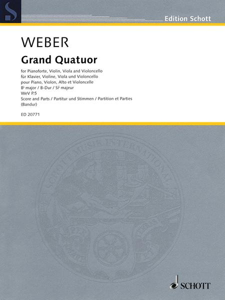 Grand Quatour in B-flat Major, WeV P.5