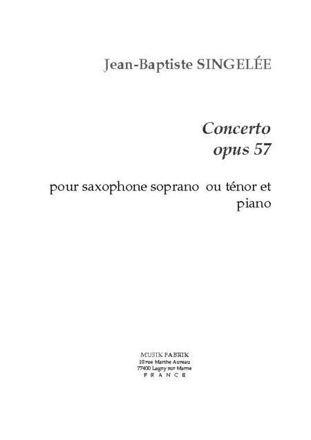 Concerto, Opus 58