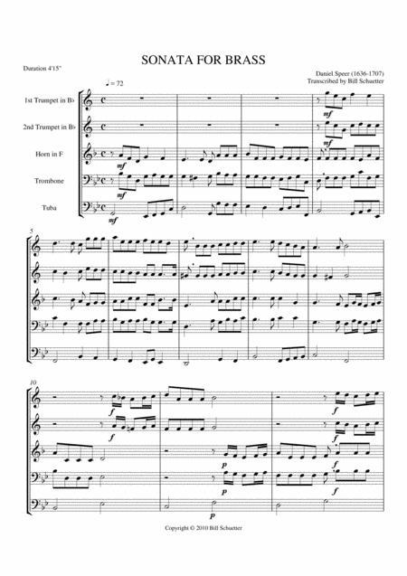 Sonata in Bb