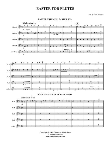 Easter for Flutes