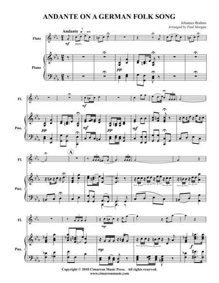 Andante on a German Folk Song