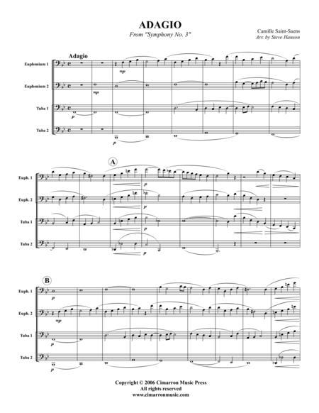 Adagio, from Symphony No. 3