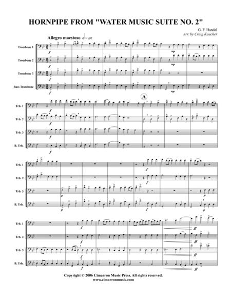 Hornpipe, from Water Music Suite No. 2