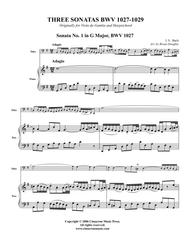 Sonata BWV 1027