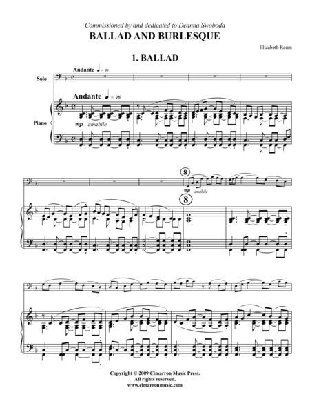 Ballad and Burlesque