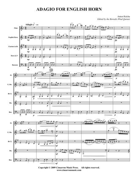 Adagio for English Horn