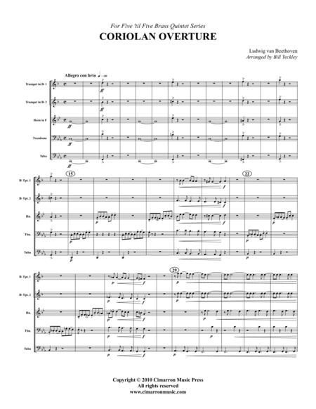 Coriolan Overture