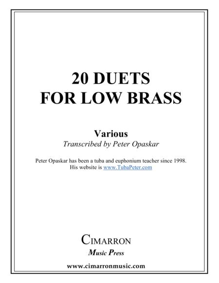 Duets for Low Brass