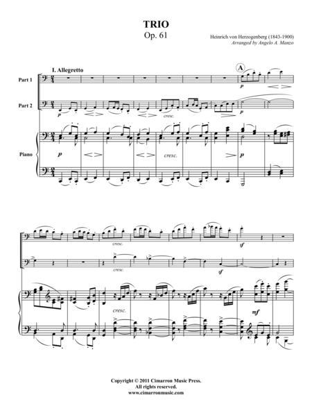 Trio, Op. 61