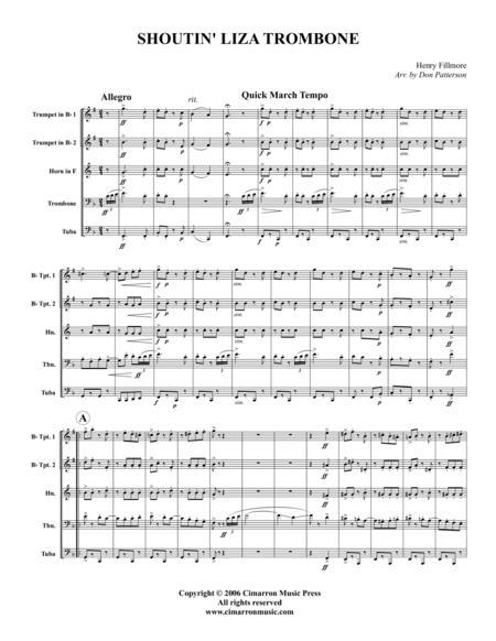 Shoutin' Liza Trombone