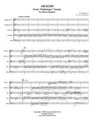 Adagio Cantible from Sonata