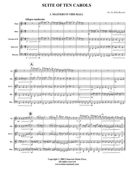 Suite of Ten Carols