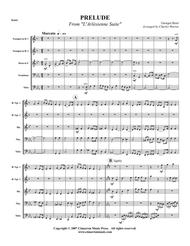 Prelude from L'Arlesienne Suite