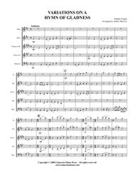 Hymn of Gladness (Variations)