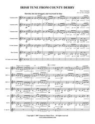 Download Irish Tune From County Derry Sheet Music By Percy ...