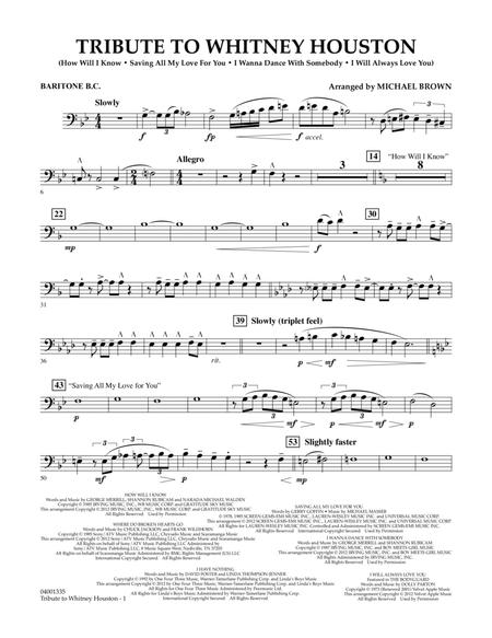 Tribute To Whitney Houston - Baritone B.C.
