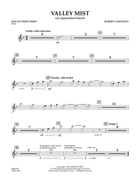 Valley Mist (An Appalachian Portrait) - Mallet Percussion