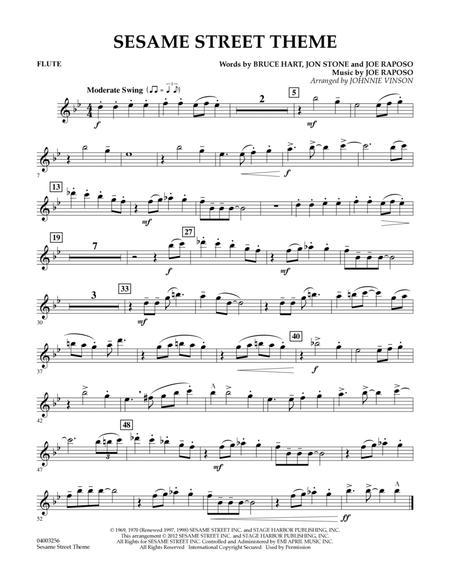Sesame Street Theme - Flute