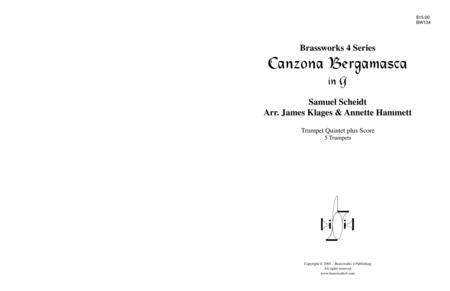 Canzona Bergamasca (G)