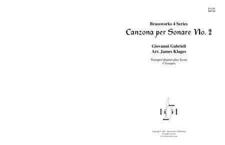 Canzona per Sonare No. 2
