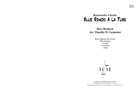 Download Blue Rondo A La Turk Sheet Music By Dave Brubeck