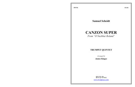 Canzon Super from