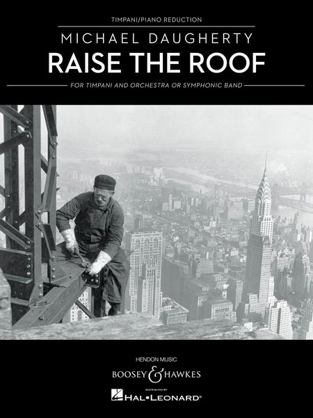 Raise The Roof Sheet Music By Michael Daugherty Sheet