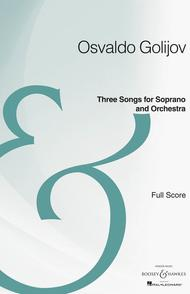 Three Songs for Soprano and Orchestra