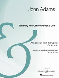 Batter My Heart, Three-Person'd God