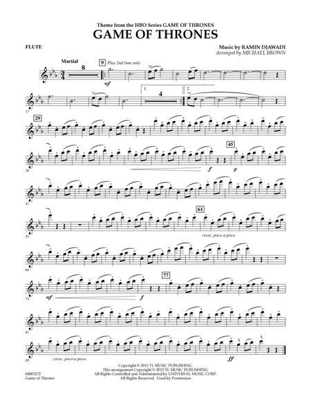 Game Of Thrones - Flute