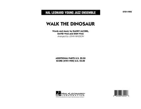 Walk The Dinosaur - Full Score