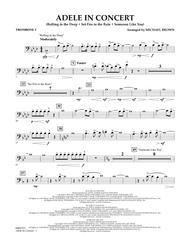 Adele In Concert - Trombone 1