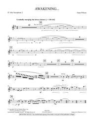 Awakening... - Eb Alto Saxophone 2