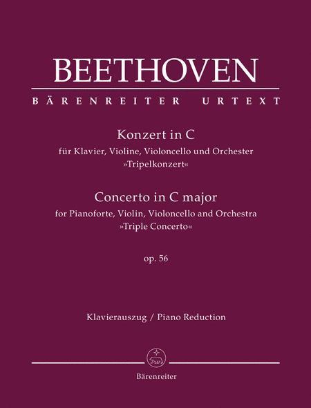 Concerto for Piano, Violin, Violoncello and Orchestra C major op. 56 'Triple Concerto'