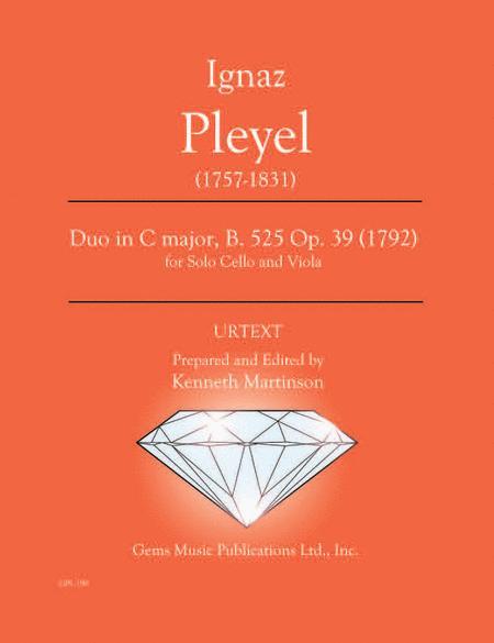Duo in C major, B. 525 Op. 39 (1792)