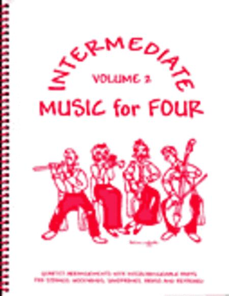 Intermediate Music for Four, Volume 2, Set of Parts for Wind Quartet
