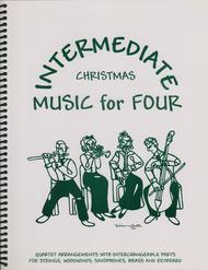 Intermediate Music for Four, Christmas, Set of Parts for String Quartet