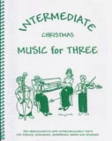 Intermediate Music for Three, Christmas - Set of 3 Parts for 2 Clarinets & Bass Clarinet