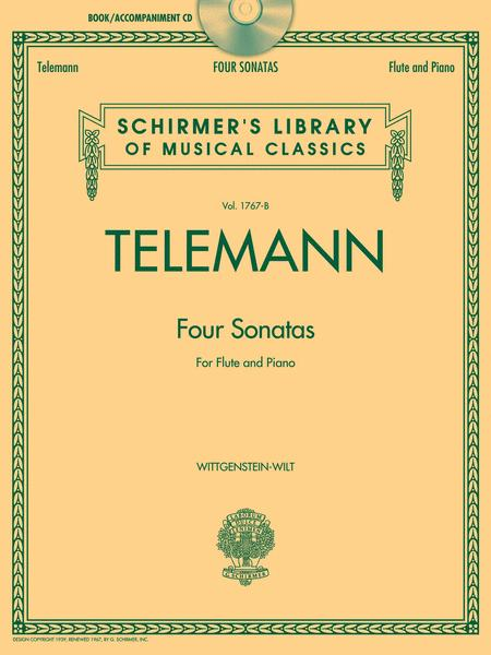 Telemann - 4 Sonatas for Flute and Piano