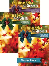 Christmas Solos for Students, 1-3 (Value Pack)